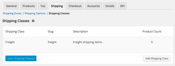 WooCommerce 2.6 Review: WooCommerce 2.6 shipping classes
