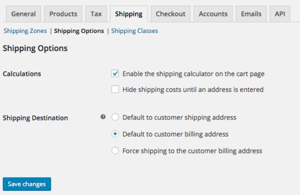 WooCommerce 2.6 Review: WooCommerce 2.6 shipping options
