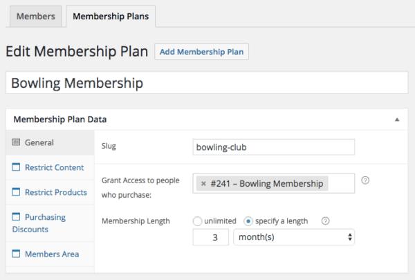 WooCommerce donation-based membership plan