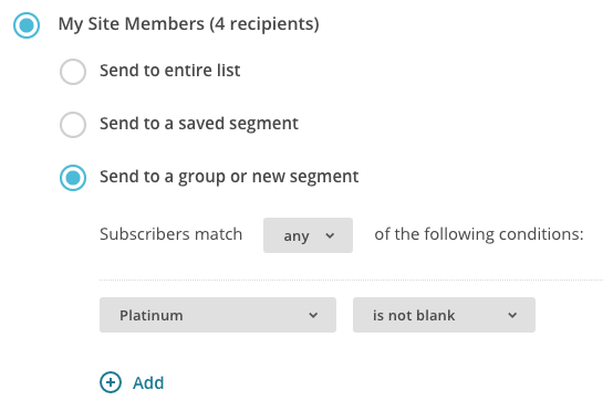 WooCommerce Memberships  email plan members