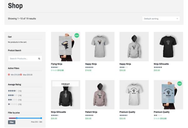 Lenscap Review: WooCommerce Shop Page