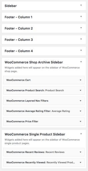 Lenscap Review: WooCommerce widget set up