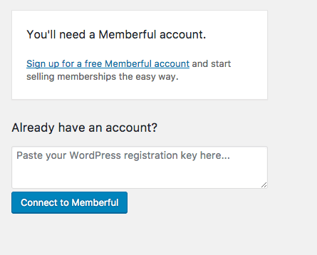 membership site with memberful connect wordpress