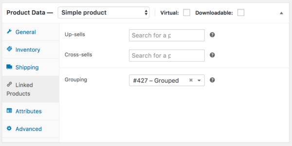WooCommerce 3.0 Review: 2.6 grouped product
