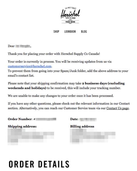 email from herschel top