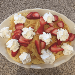 Whipped Cream and Strawberries