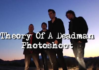 Theory of a Deadman – Photoshoot