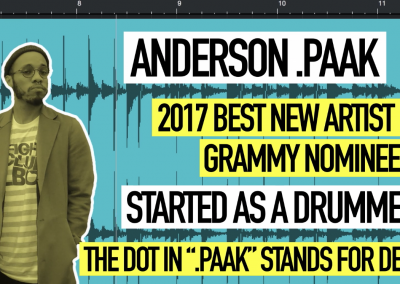 To The Beat With Kurt Hugo Schneider: Episode 2 with Anderson .Paak
