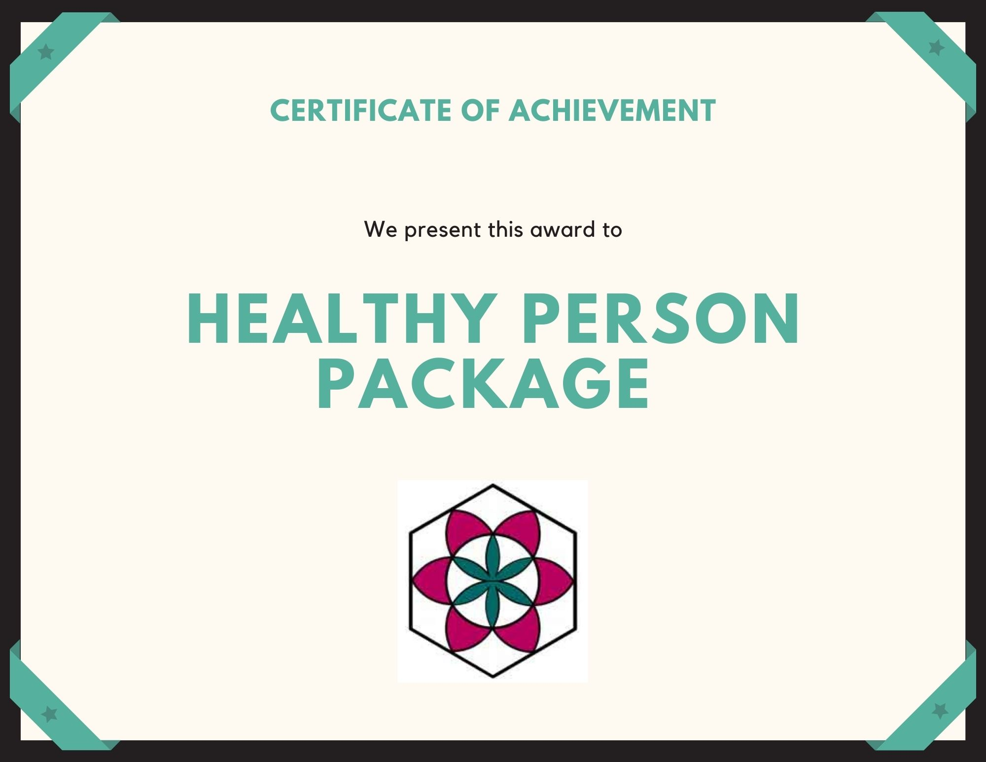 Healthy Person Package