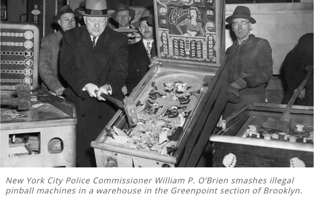 Nothing Criminal about Pinball in Chubb Dodge's