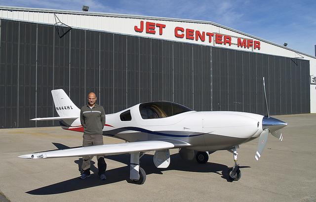 Tony Moradian Finished Lancair Legacy Plane