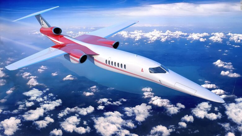 Tony Moradian Supersonic Jet