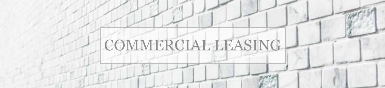 Commercial Leasing Banner