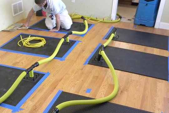 castino remodel rebuild water mold restoration