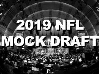 2019 NFL Mock Draft