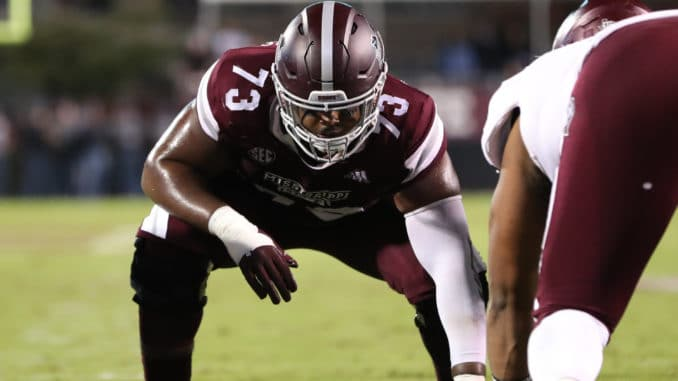 Darryl Williams 2020 NFL Mock Draft