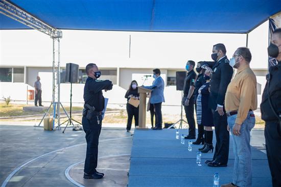 Capacitan expertos de Sonora a mandos de la Policía Municipal de Chihuahua en temas de seguridad pública
