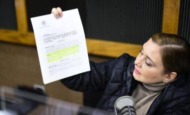 Maru Campos responde a mentiras de periódico con pruebas y resultados