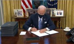 Firma Biden decreto que detiene construcción del muro entre EE.UU. y México