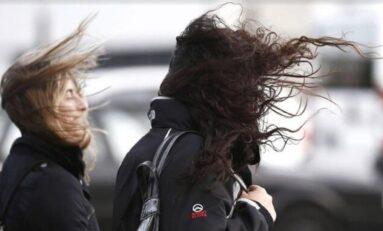 Se aproxima nuevo frente frío con ráfagas de viento de 55 km/h