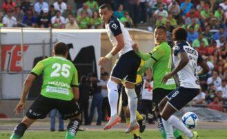 Gana Monterrey 6 goles a 1 al Bravos de Juárez; en la Jornada 9 de la Liga Mx
