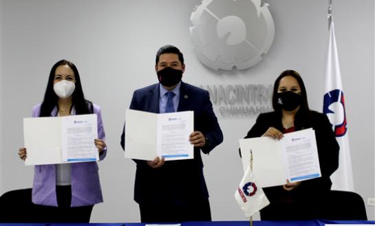 Firma Gobierno Municipal convenio de colaboración con sector industrial
