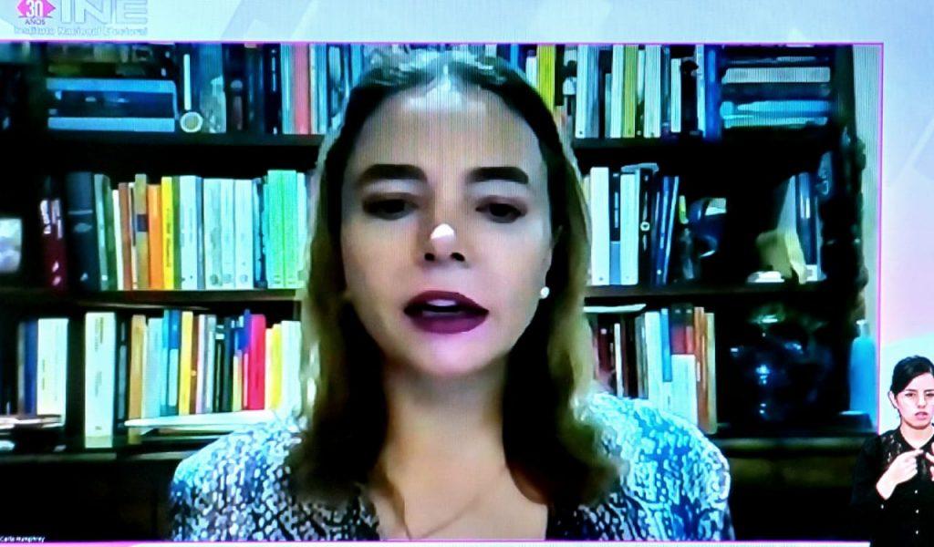 Quien ejerce violencia política contra las mujeres no puede ser candidato: Carla Humphrey