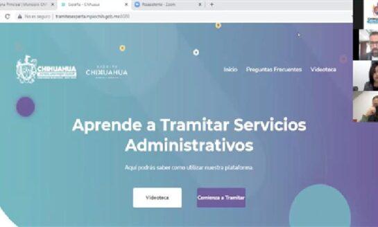 Presenta Gobierno Municipal Plataforma Experta a cámaras de comercio, clústers y organismos empresariales