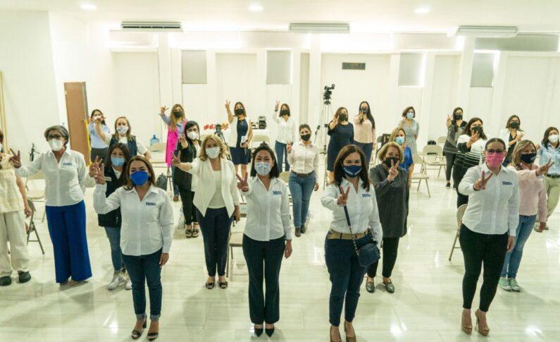 Maru, nos representarás dignamente y confiamos en tu proyecto que ya ha dado resultados: Mujeres líderes panistas