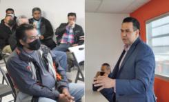 """Se compromete Cruz Pérez Cuéllar a buscar regularización de autos """"chuecos"""""""