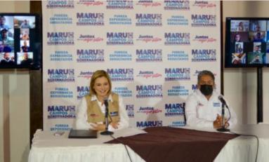 Construiremos un gobierno que atienda las necesidades del campo: Maru Campos