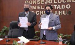 Entrega INE nombramiento a Yuri Zapata como Presidente del IEE