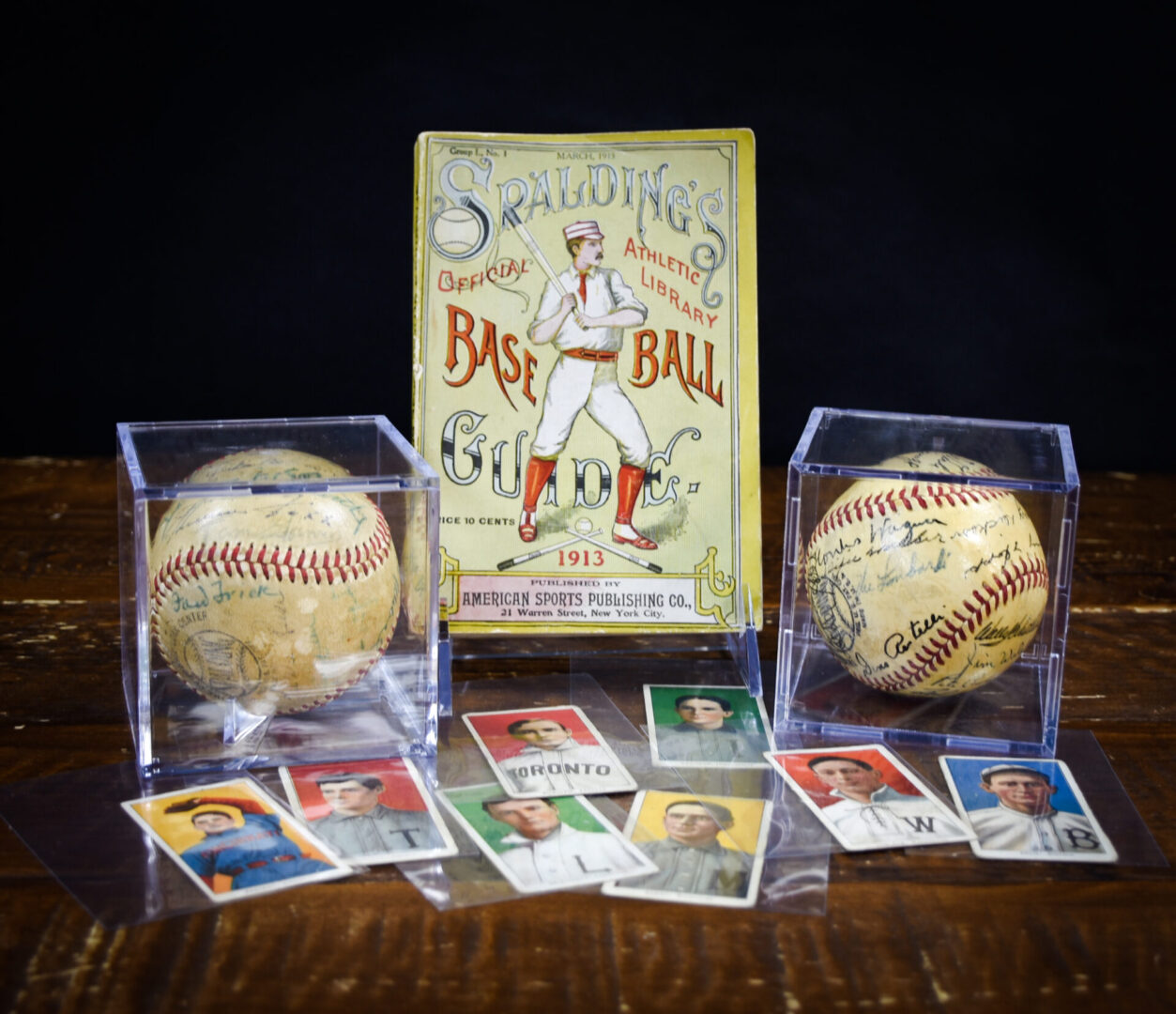 Baseball cards and autographed items