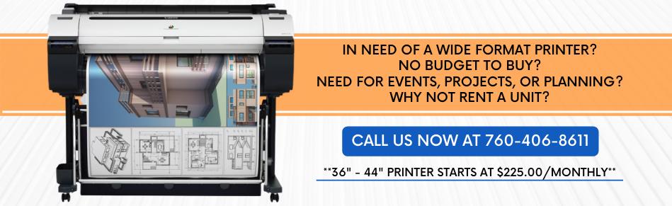 Wide-Format Printers - PCG