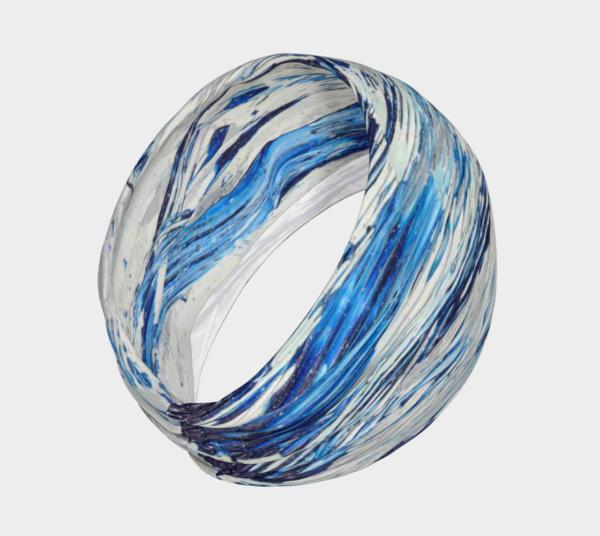 Blue Flow Headband
