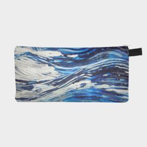 Blue Flow Pencil Case