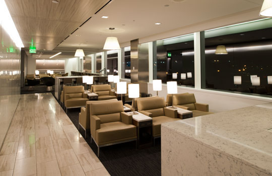 United Airlines Club Lounge SEATAC