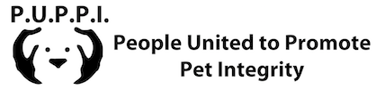 People United to Promote Pet Integrity Logo