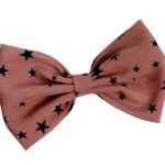 Coral brown with stars