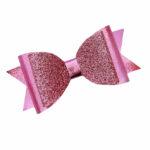 Double cherise pink & glitter
