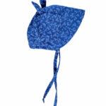 Denim blue floral