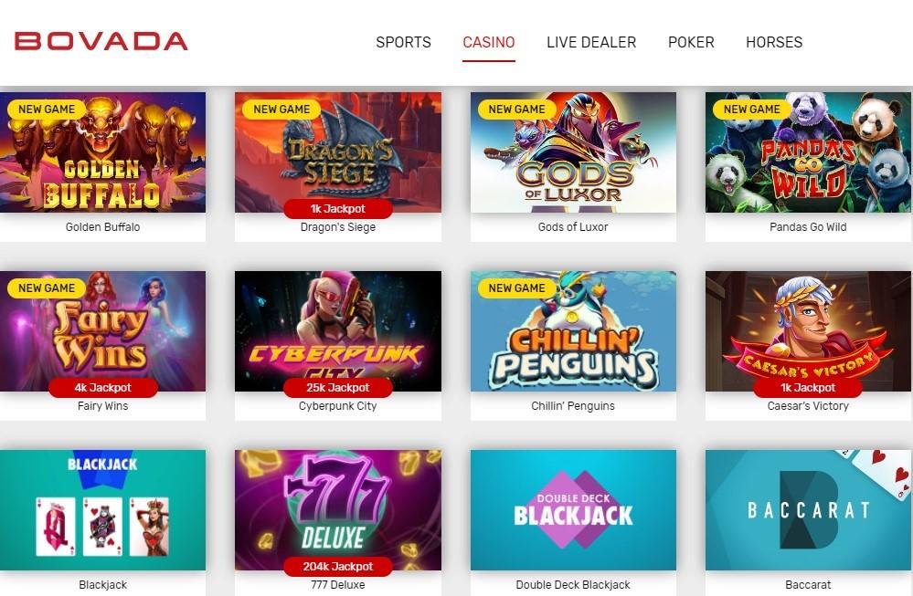 Bovada Casino: Online Slots
