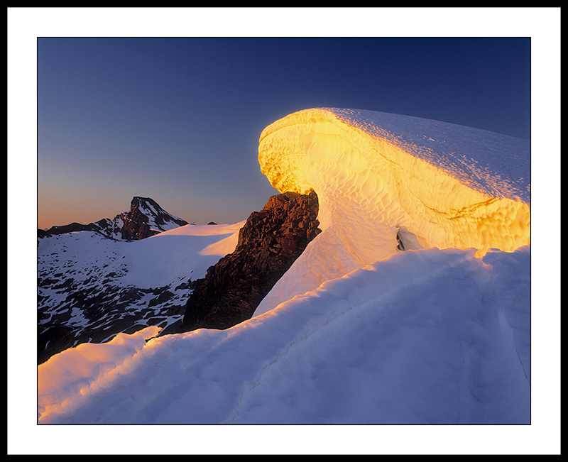 Luna Peak and Snow Cornice - North Cascades National Park, Washington