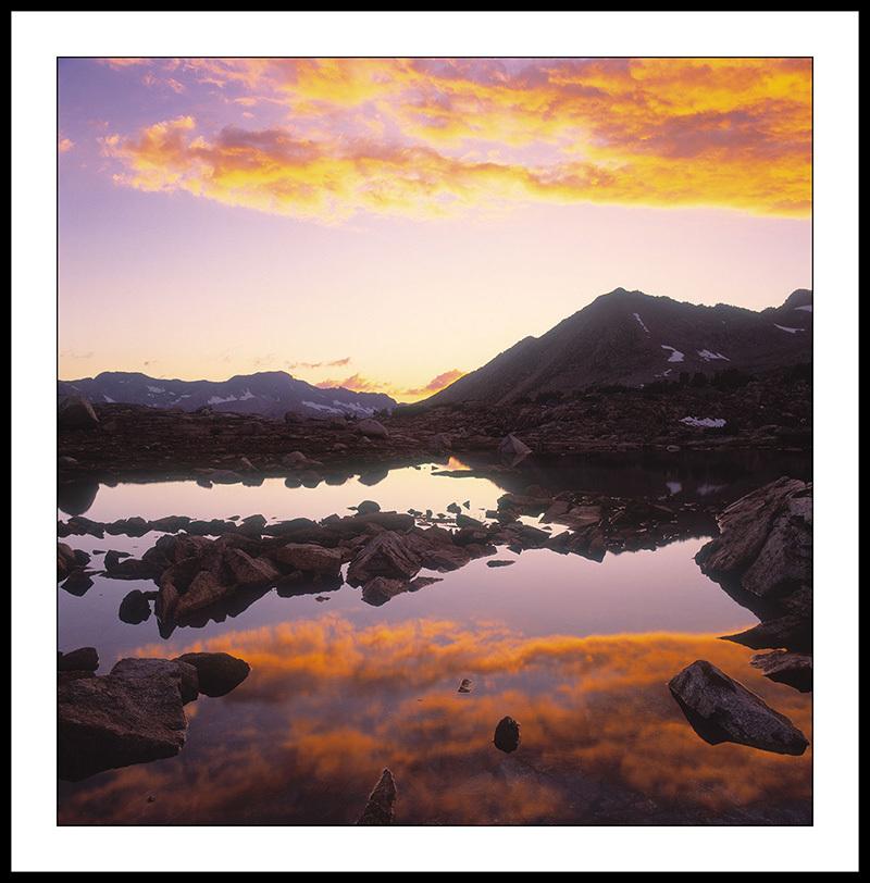 Dusey Basin Sunset - John Muir Wilderness, California
