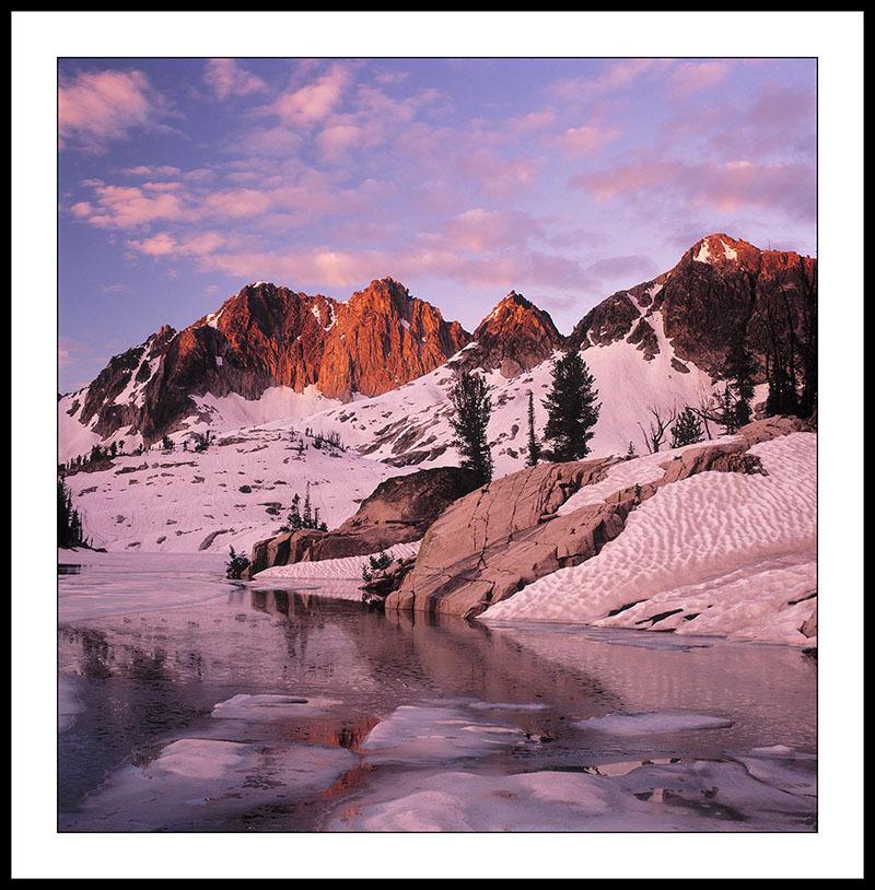 Lake Kathryn  Sunrise -  Sawtooth Mountains, Idaho