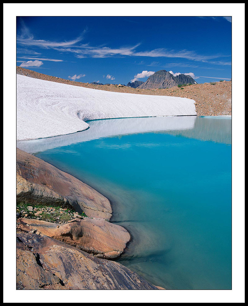 Sperry Glacier Lake - Glacier National Park, Montana