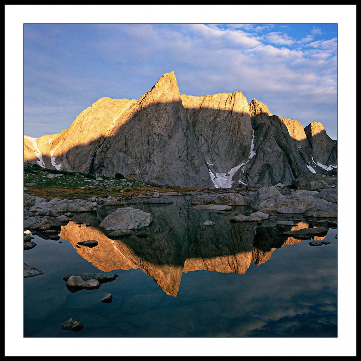 Ambush Peak Sunrise - Wind River Mountains, Wyoming
