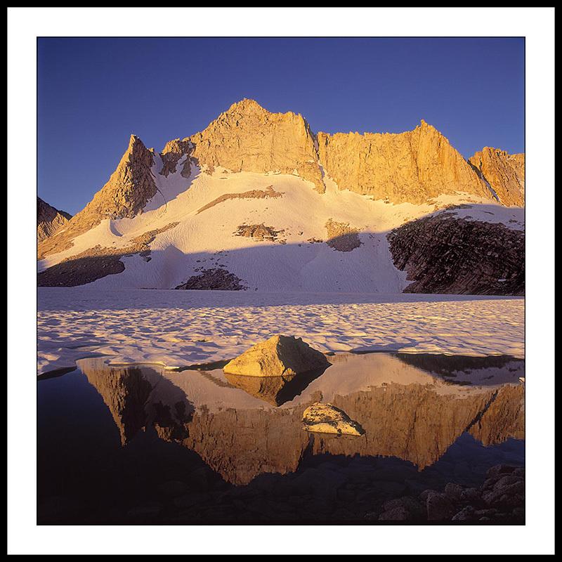 Feather Peak and Royce Lake - Sierra Nevada,  California