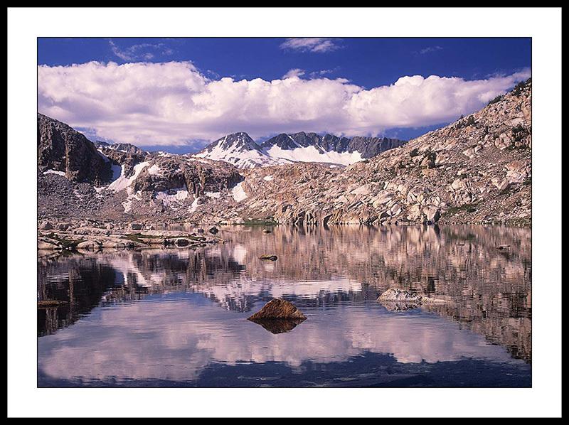 Sapphire Lake and Evolution Basin - John Muir Wilderness, Sierra Nevada,  California