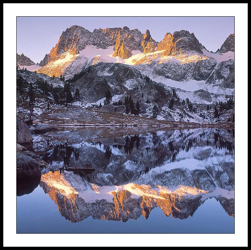 Ediza Lake and Mt Ritter - Ansel Adams Wilderness, California